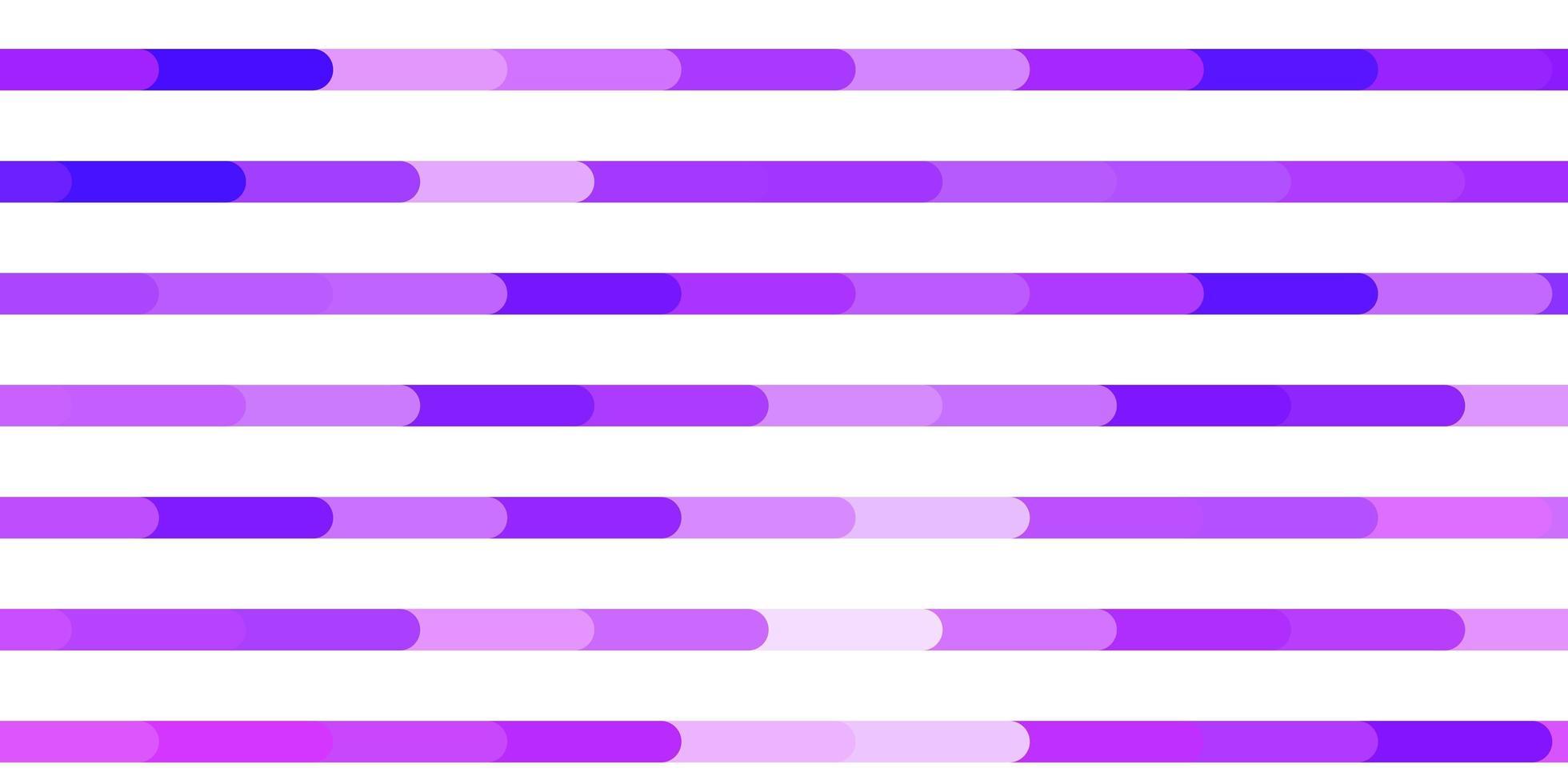 patrón de vector púrpura claro con líneas.