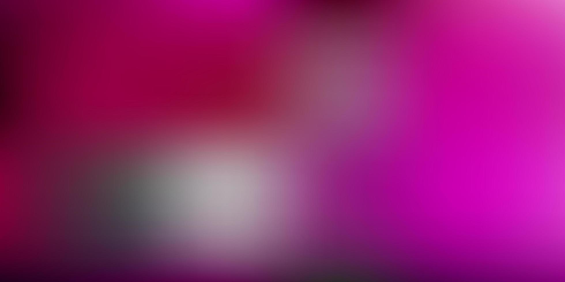 plantilla borrosa vector rosa oscuro.
