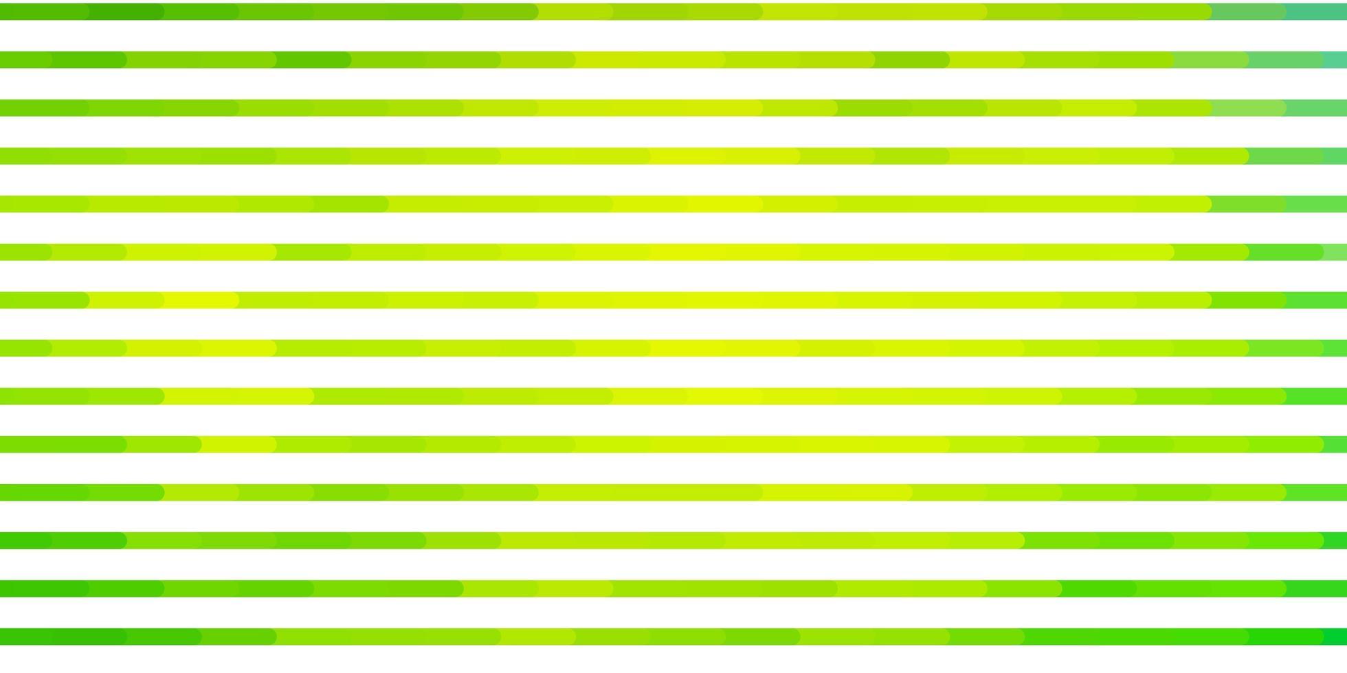 diseño de vector verde claro con líneas.