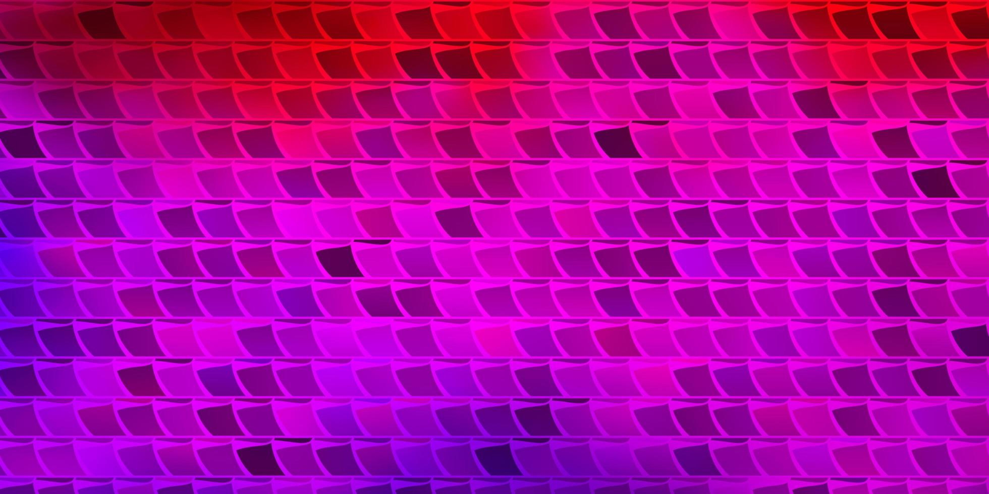 Light Pink, Red vector background with rectangles.