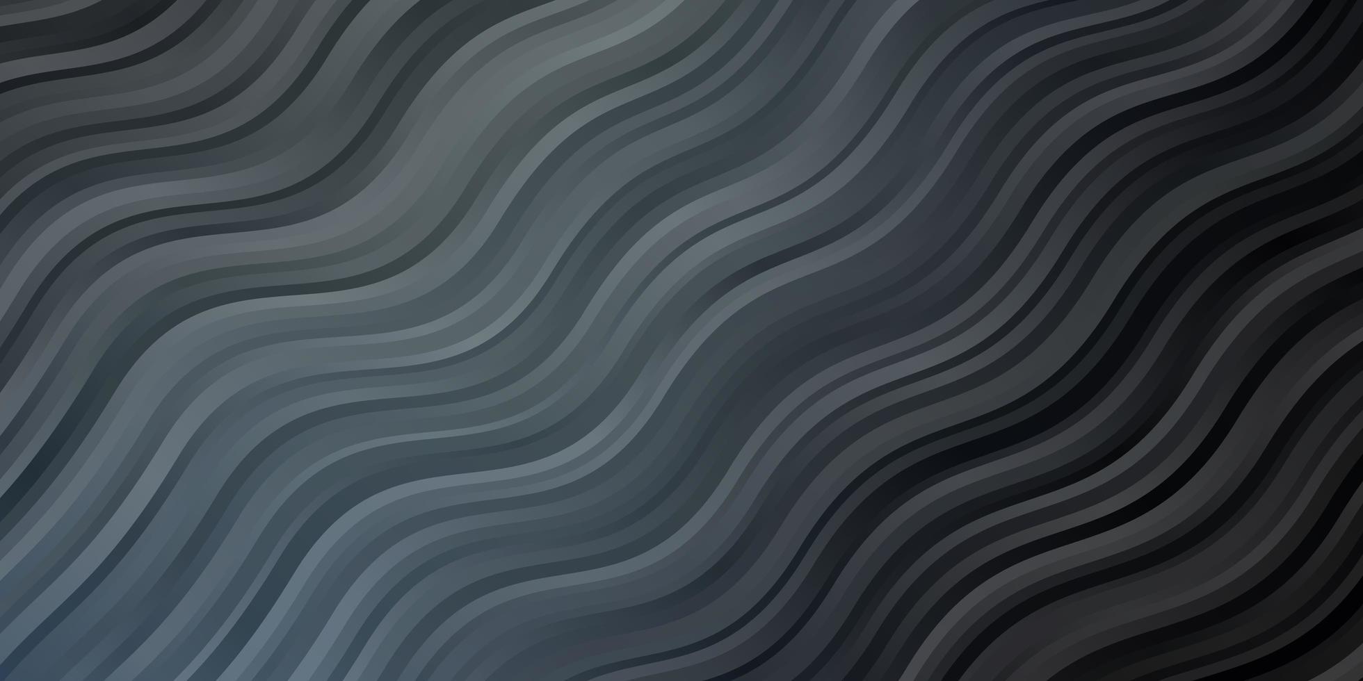 diseño vectorial gris claro con líneas torcidas. vector