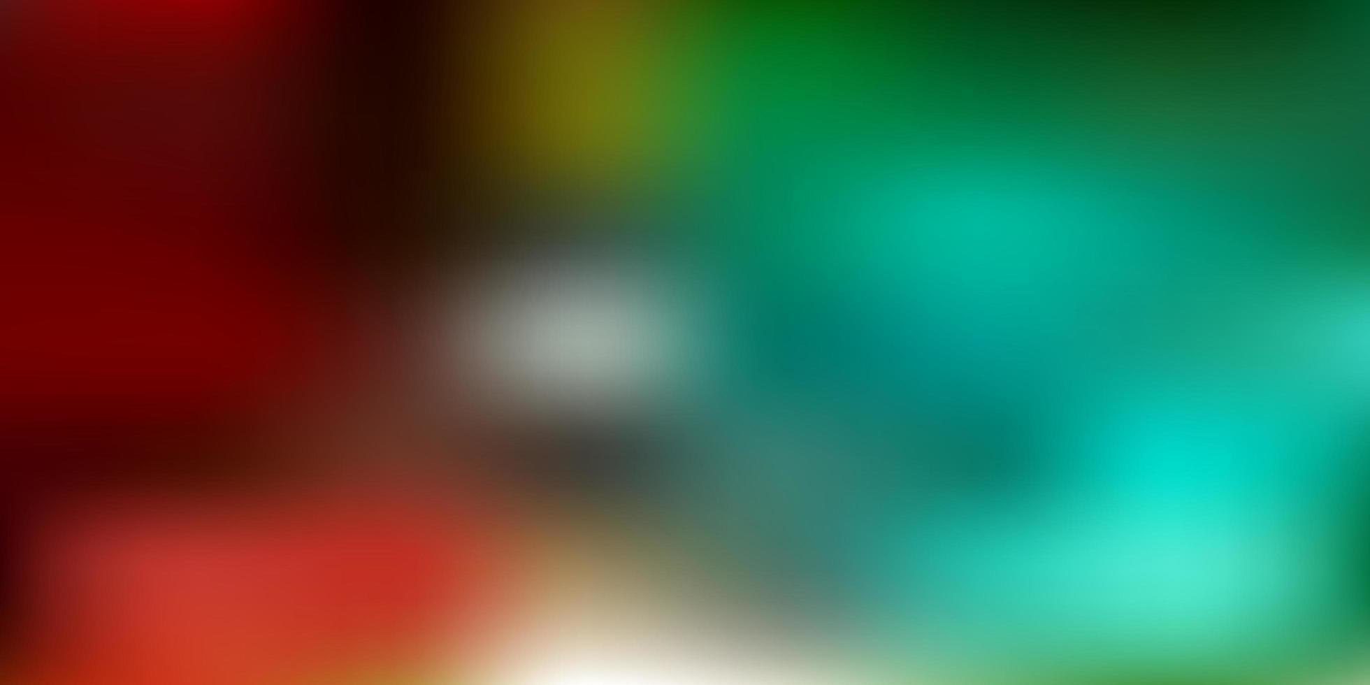 Light multicolor vector blur template.