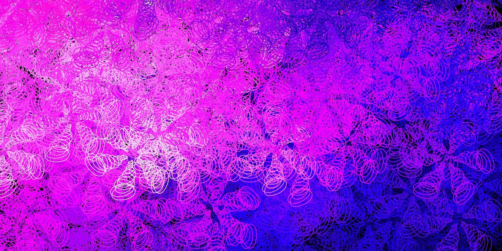 Telón de fondo de vector púrpura, rosa oscuro con puntos.