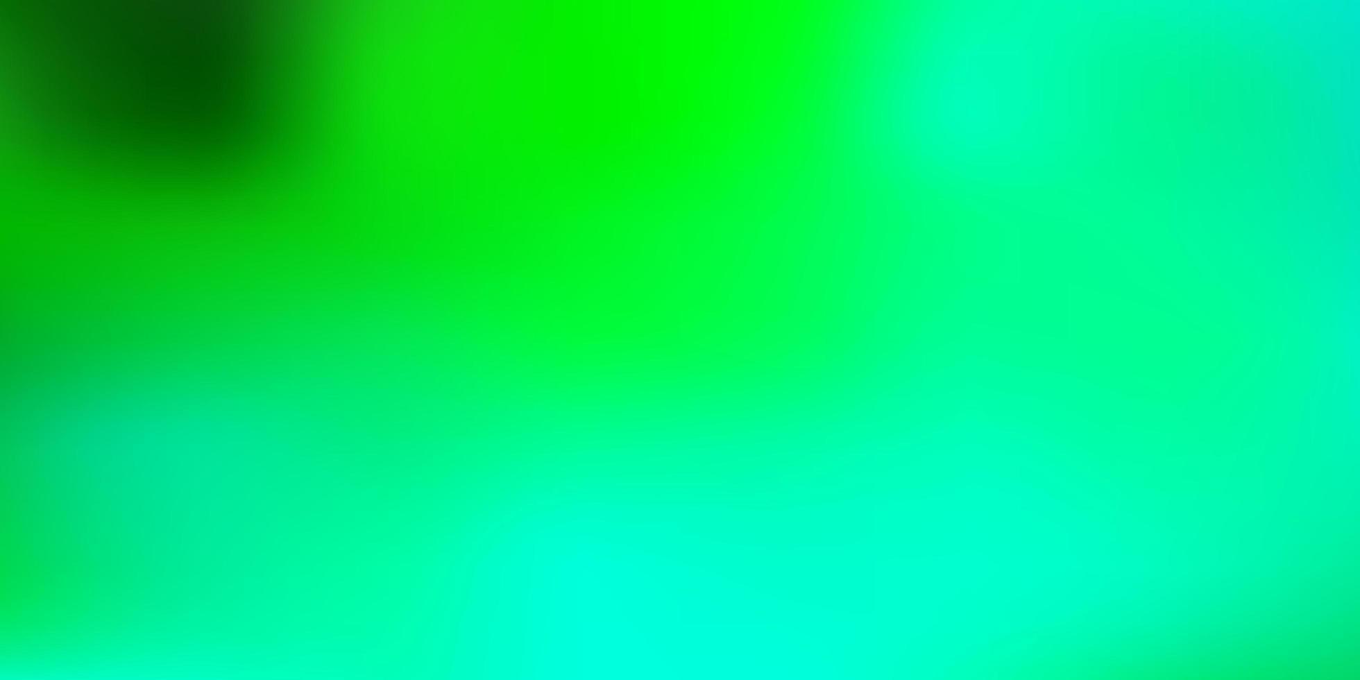dibujo de desenfoque abstracto de vector verde claro.