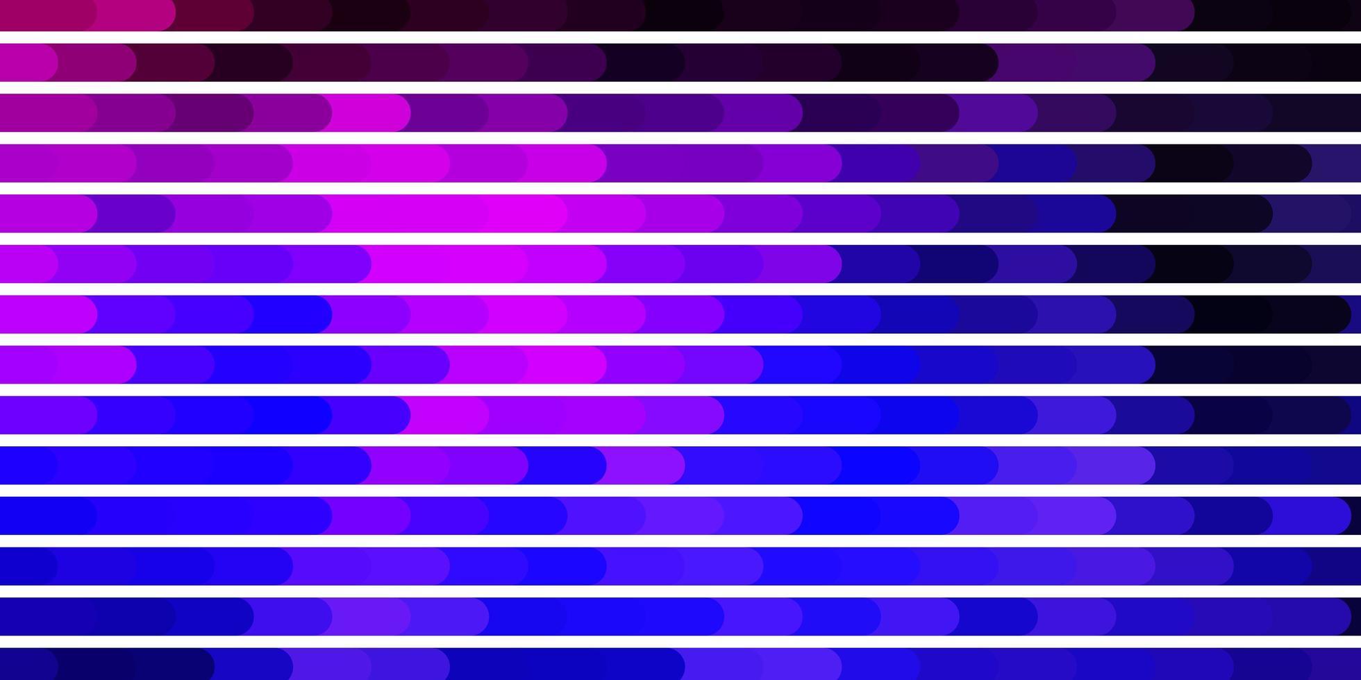 plantilla de vector de color púrpura oscuro, rosa con líneas.