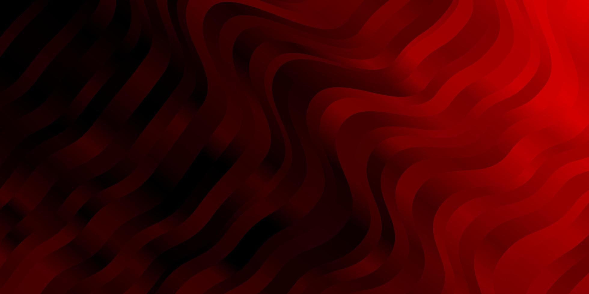 Fondo de vector rojo oscuro con líneas.