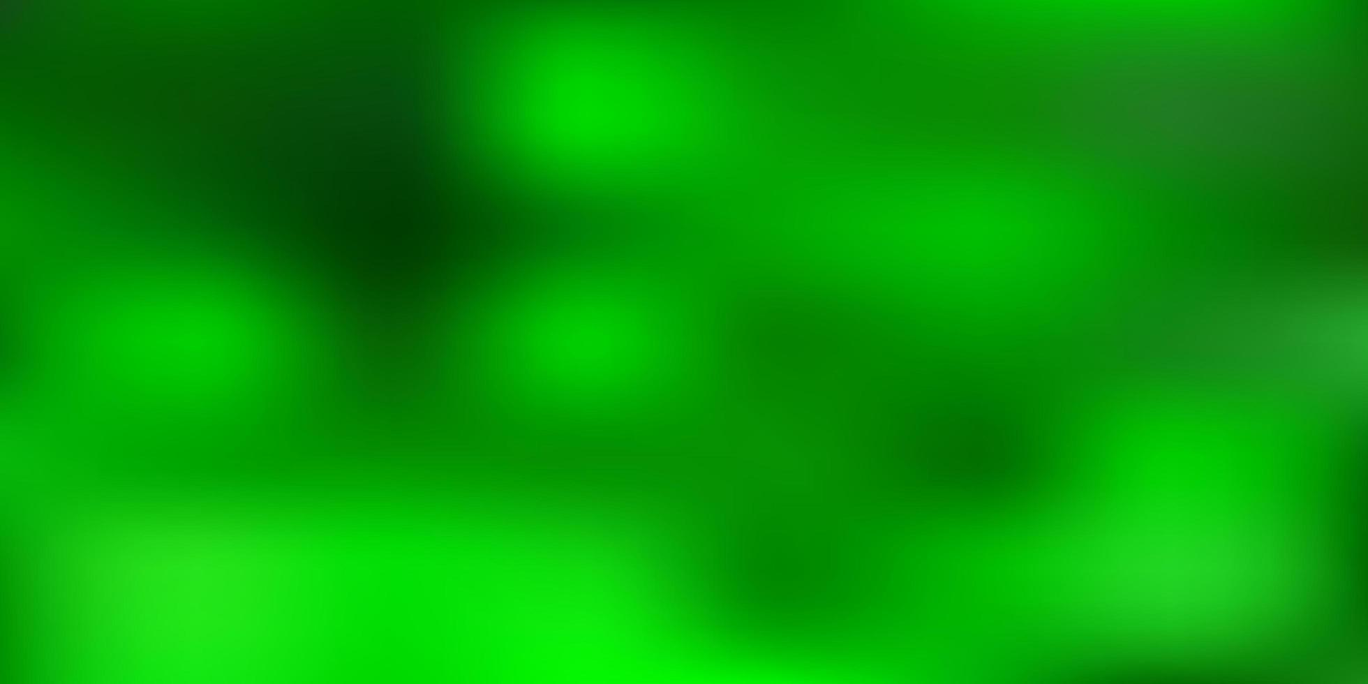 dibujo de desenfoque de vector verde claro.