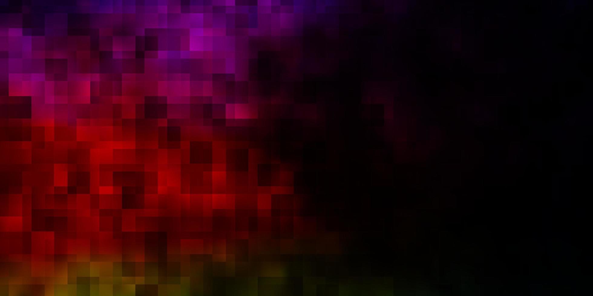 diseño de vector multicolor oscuro con líneas, rectángulos.