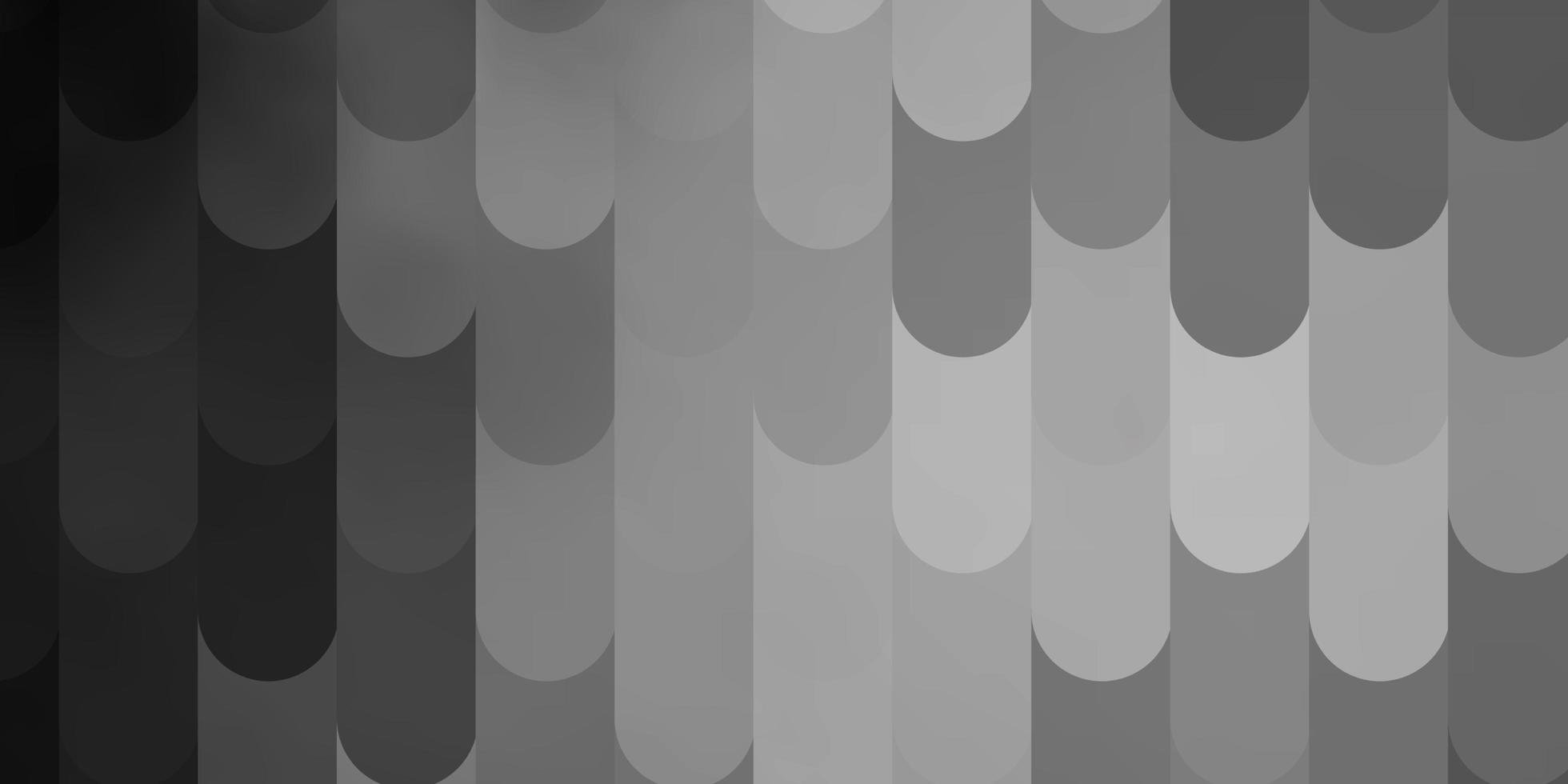 plantilla de vector gris claro con líneas.