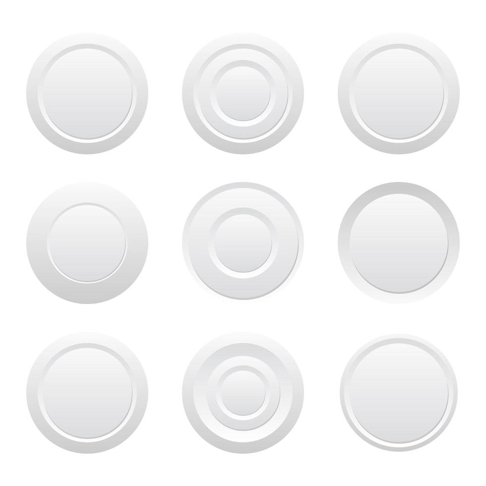 Multimedia control buttons vector design illustration isolated on white background
