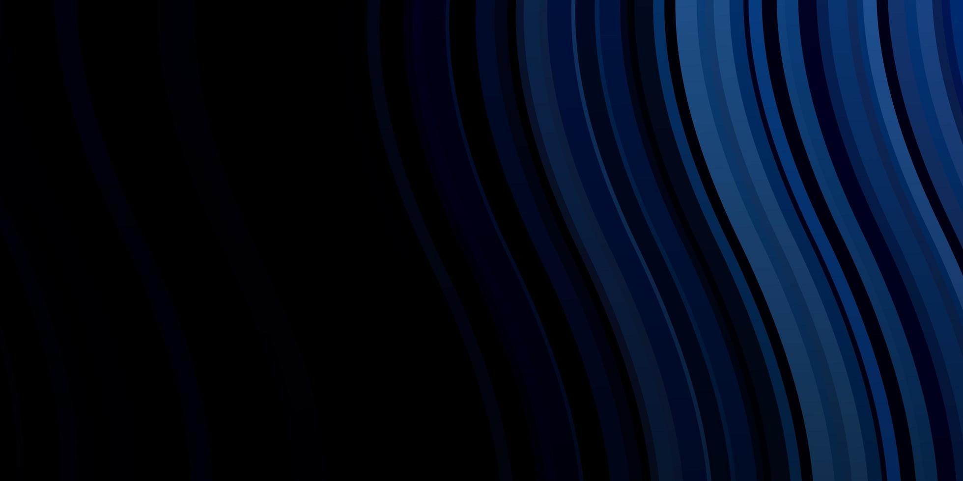 Dark BLUE vector template with wry lines.