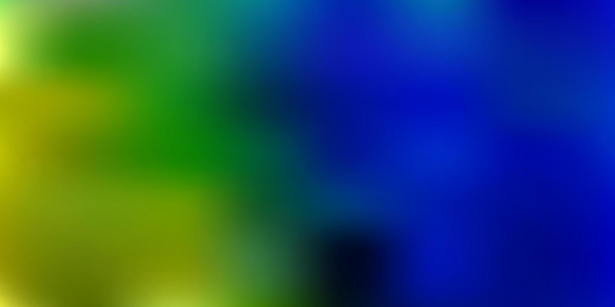 textura de desenfoque degradado vector azul claro, verde.