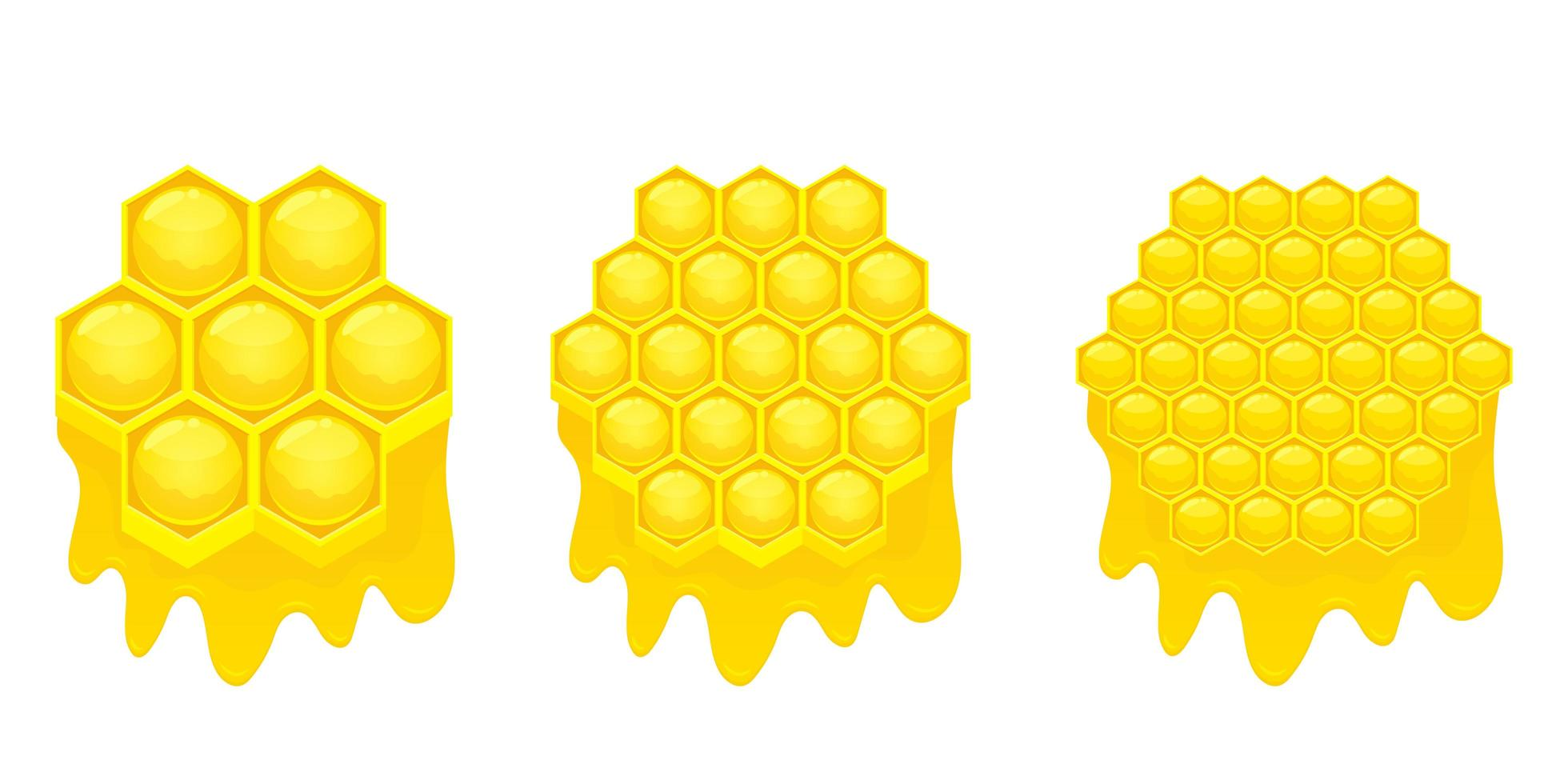 Honeycomb vector design illustration isolated on white background