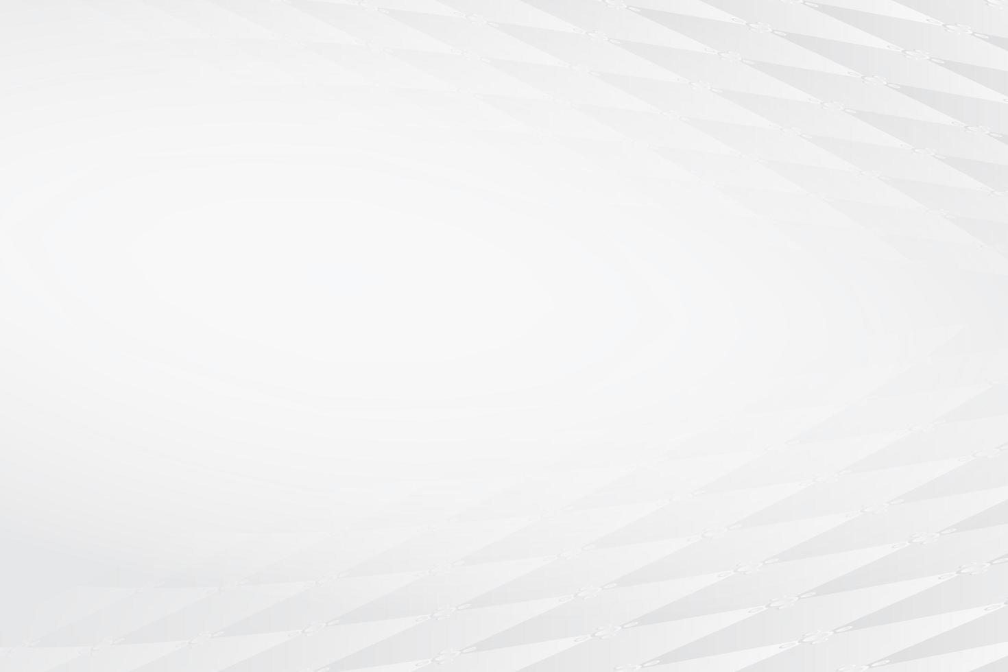Fondo de banner moderno blanco abstracto vector