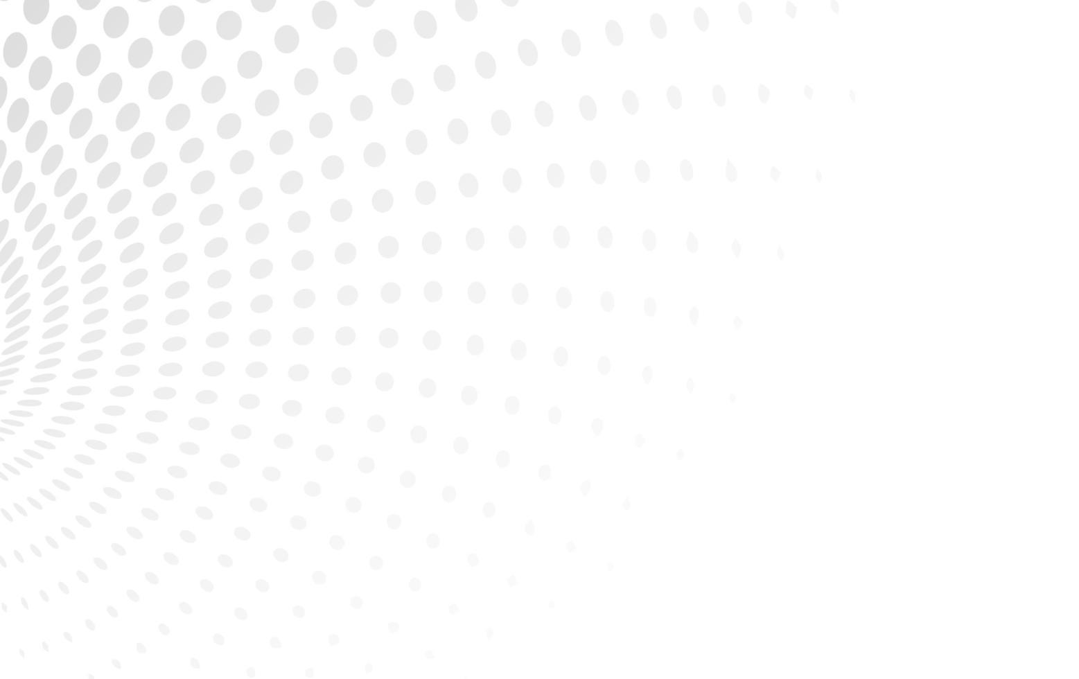 fondo geométrico blanco de semitono vector