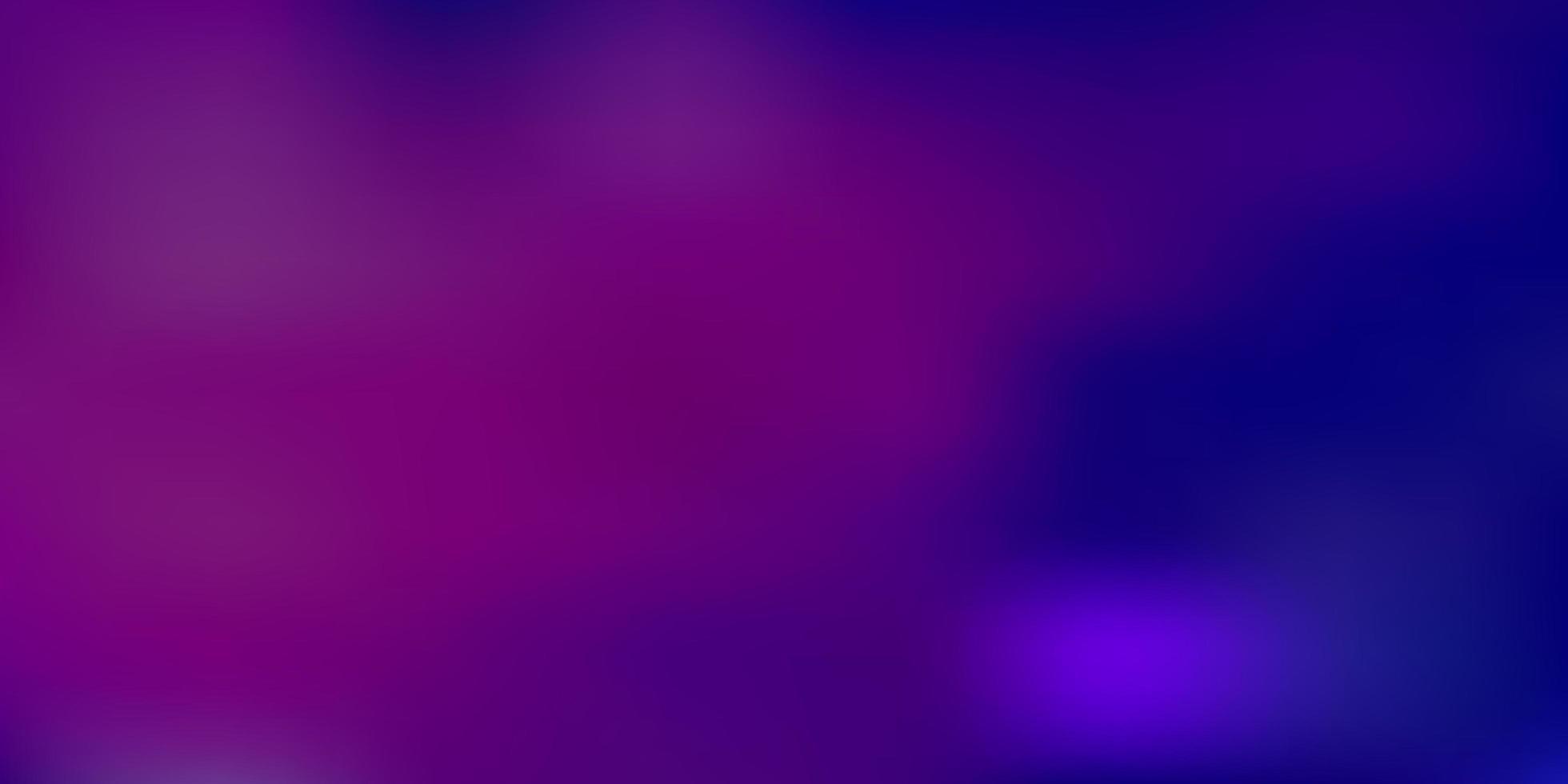 Fondo de desenfoque de vector rosa claro, azul.