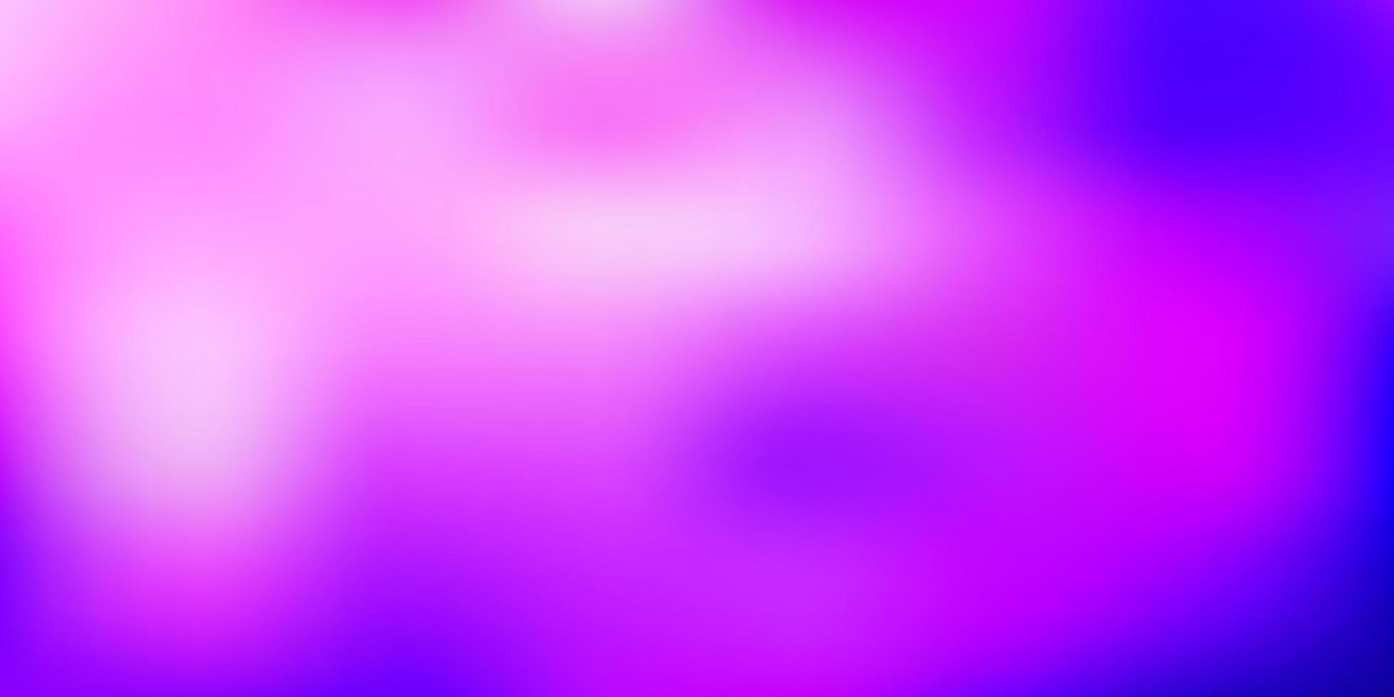 patrón borroso vector púrpura claro.