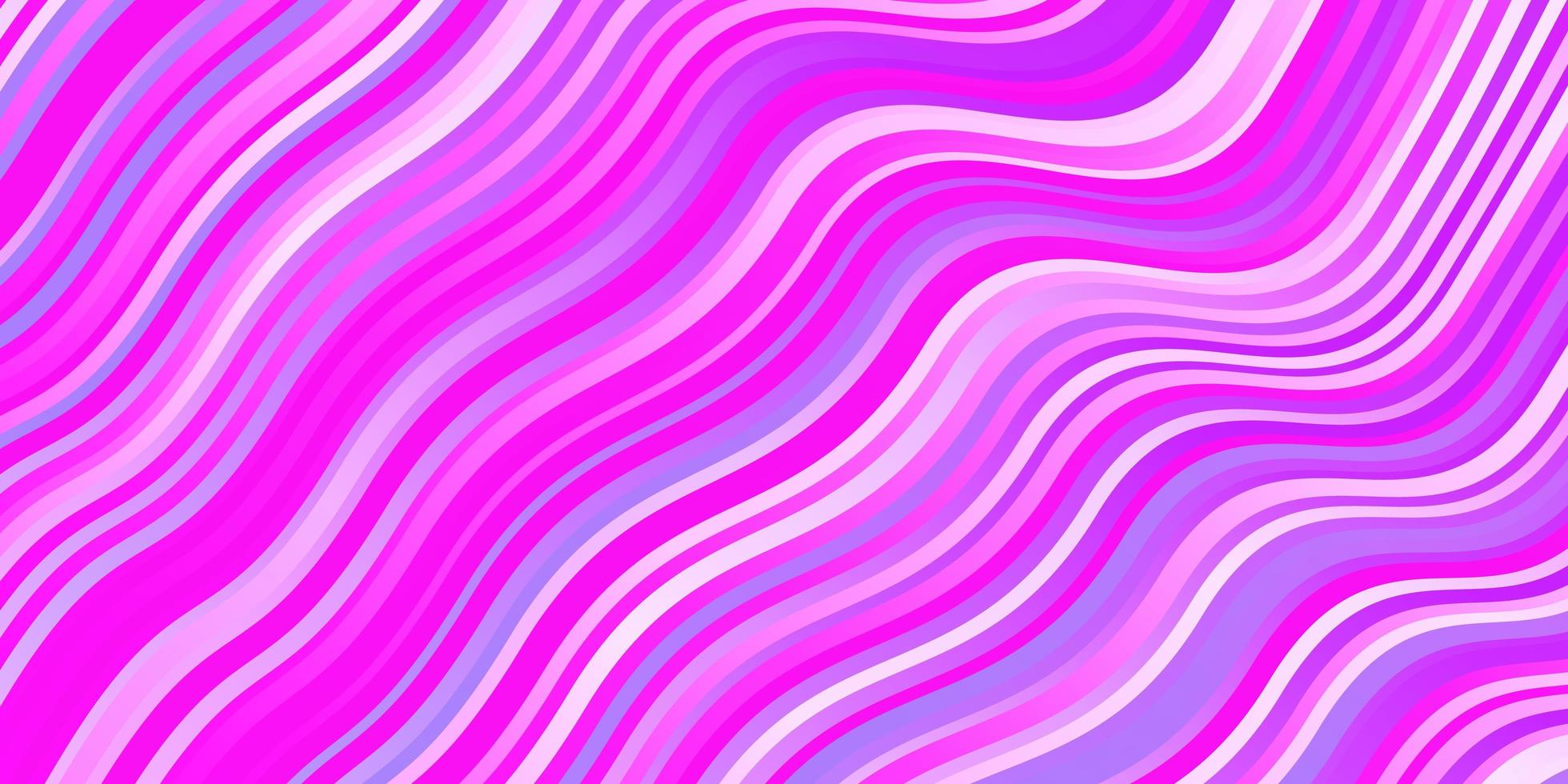 Light Purple, Pink vector layout with circular arc.