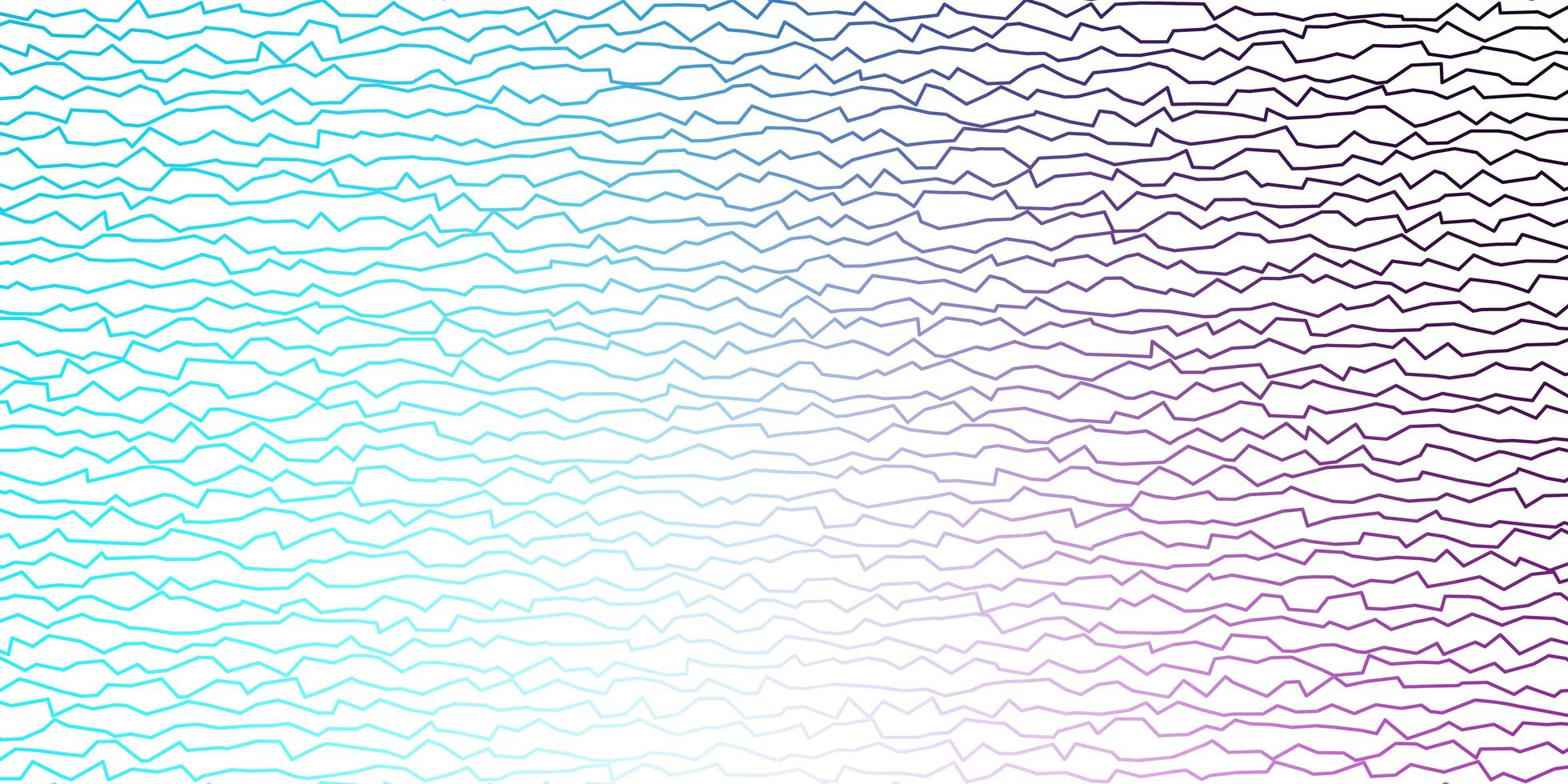 diseño vectorial rosa oscuro, azul con líneas torcidas vector
