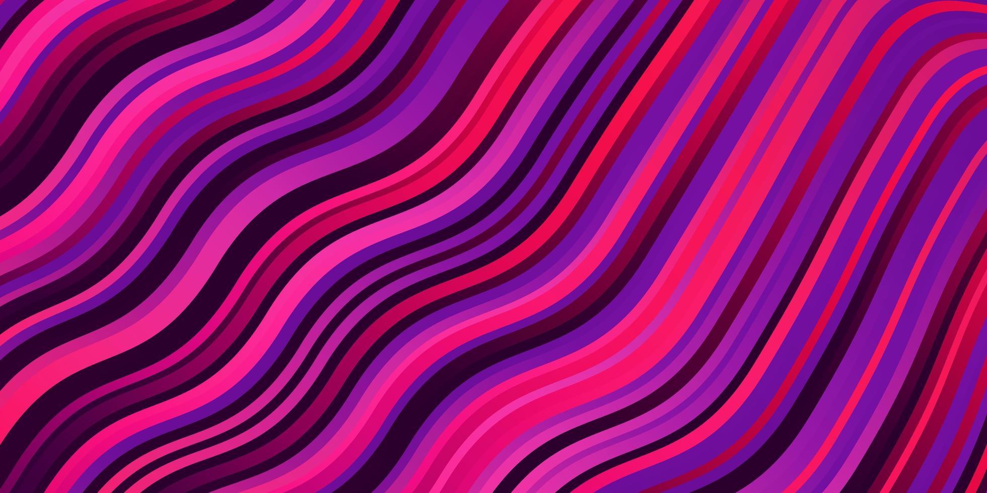 diseño vectorial de color rosa, violeta claro con arco circular. vector