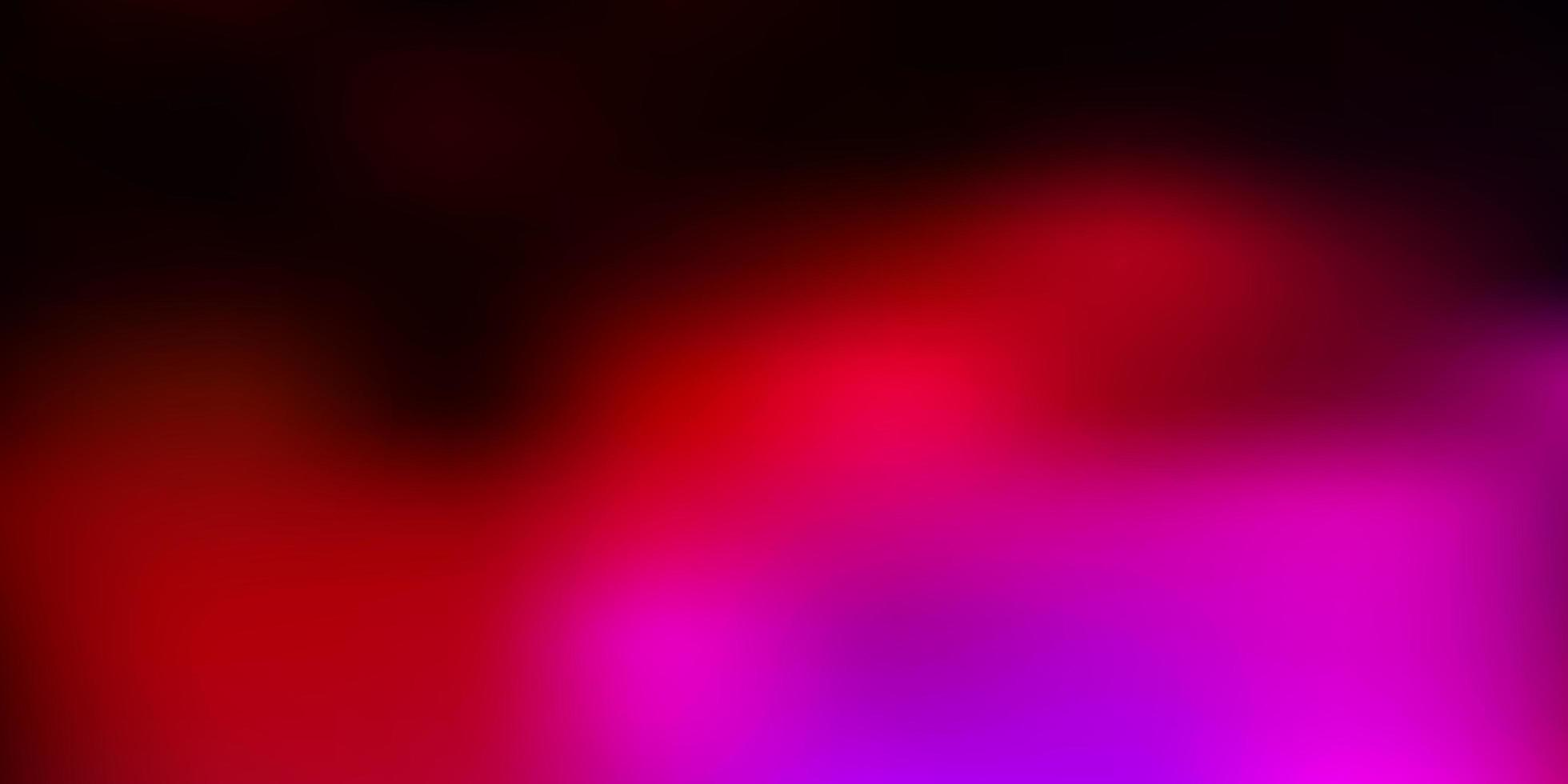 Fondo de desenfoque abstracto de vector rosa oscuro.