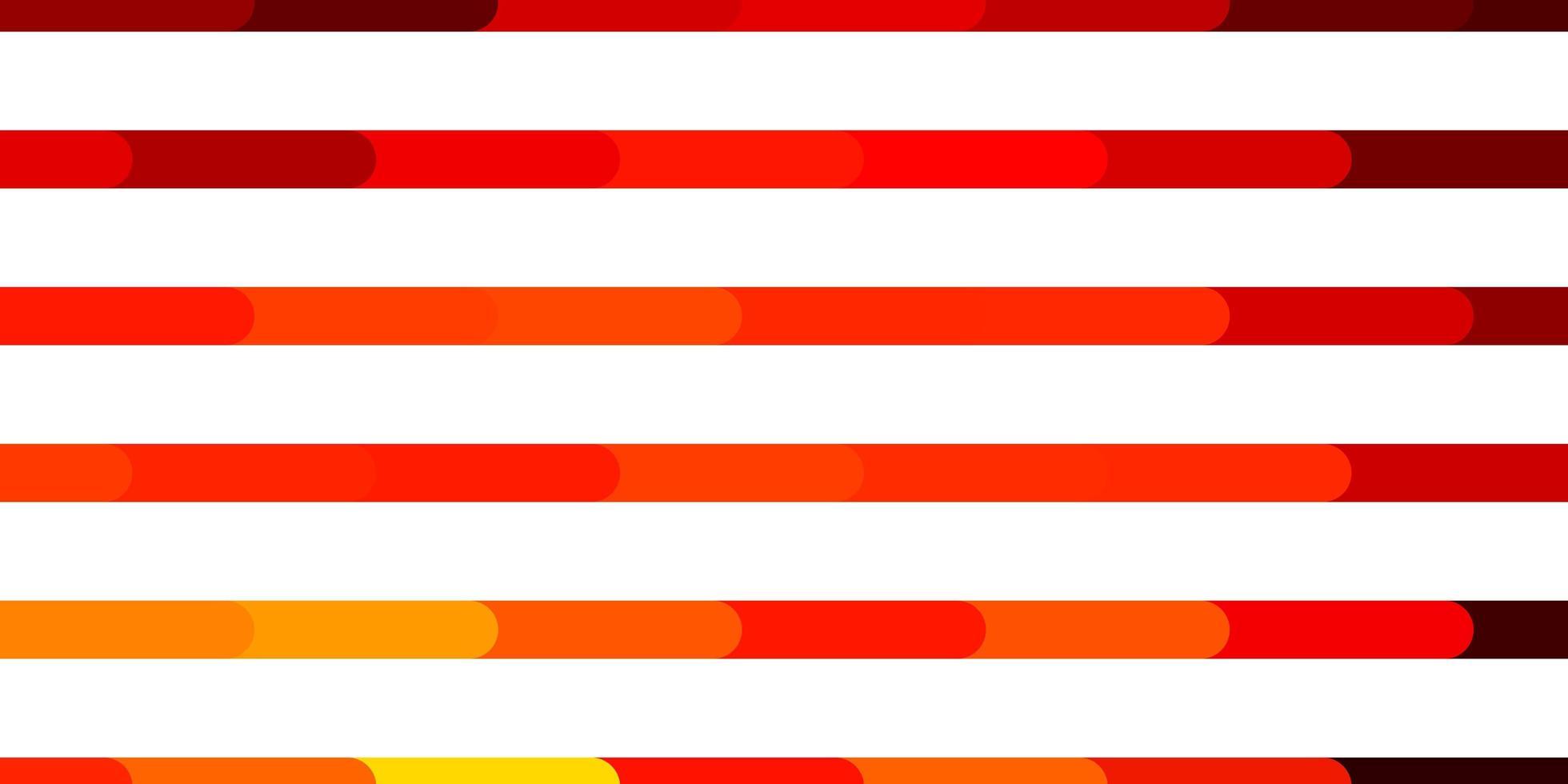 patrón de vector naranja oscuro con líneas