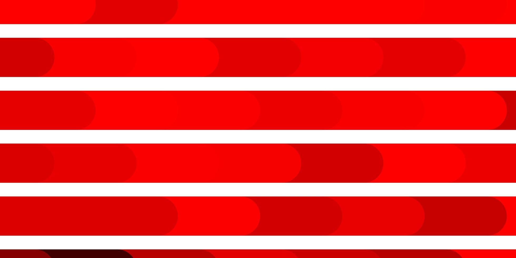 patrón de vector rojo oscuro con líneas.