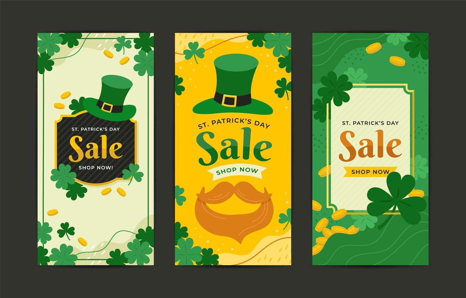St Patrick's Day Sale Banner vector