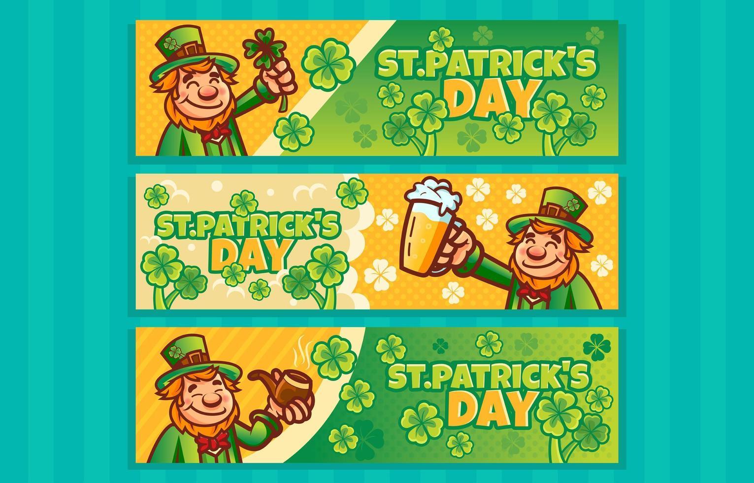 Leprechaun Celebrate St Patricks Day vector