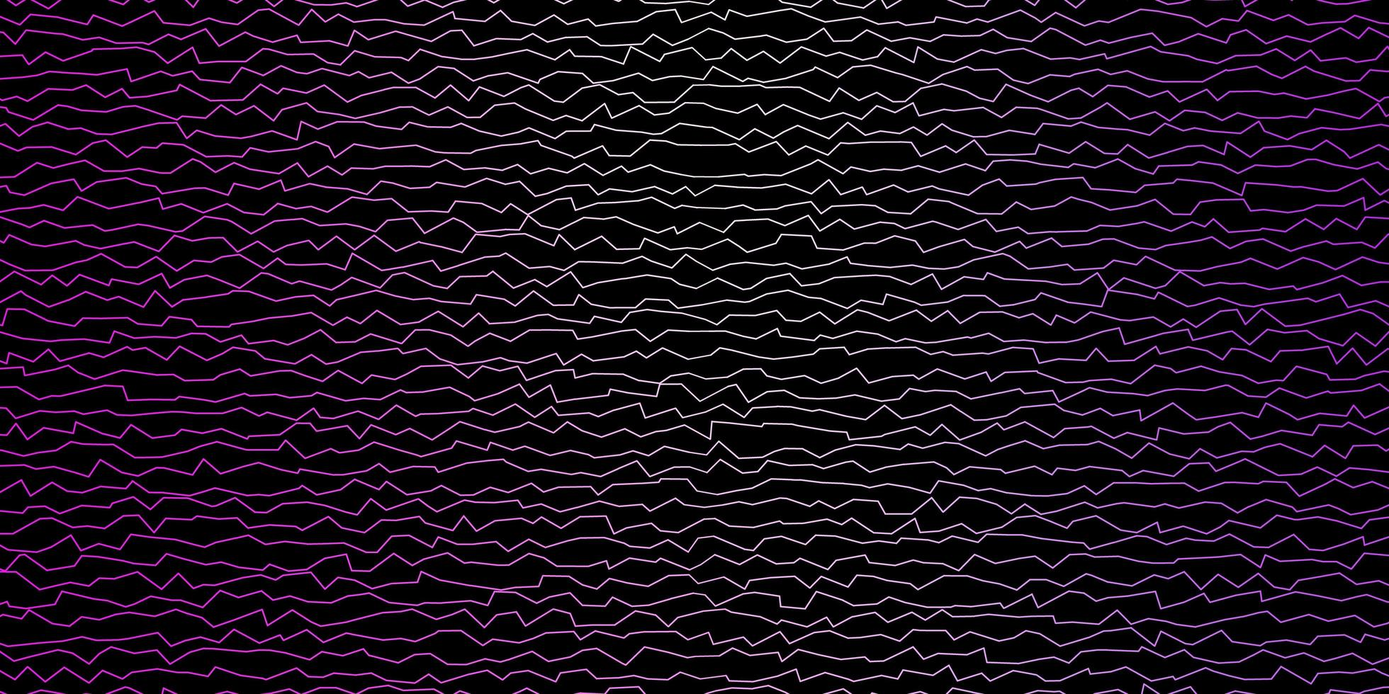 Dark Purple, Pink vector template with wry lines.