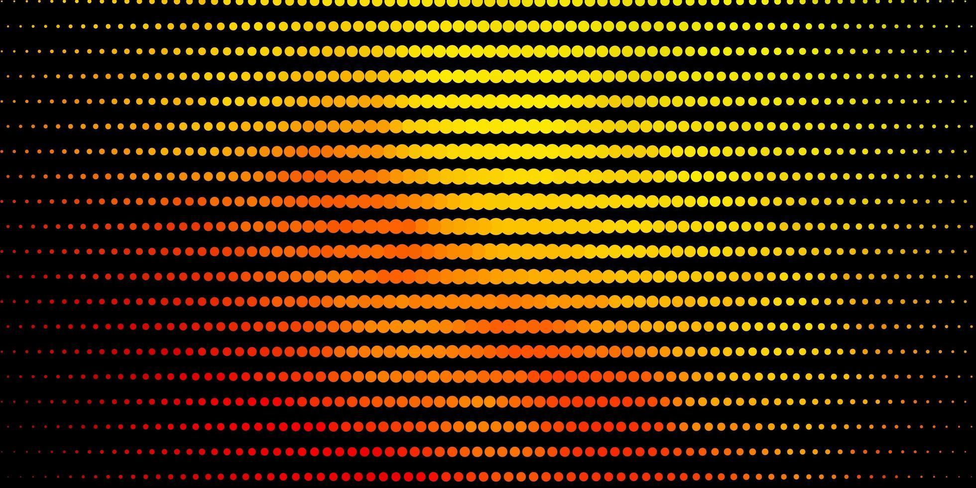 diseño de vector verde oscuro, rojo con formas circulares.