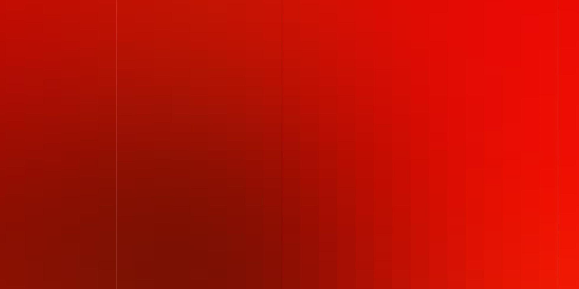 telón de fondo de vector rojo claro con rectángulos.