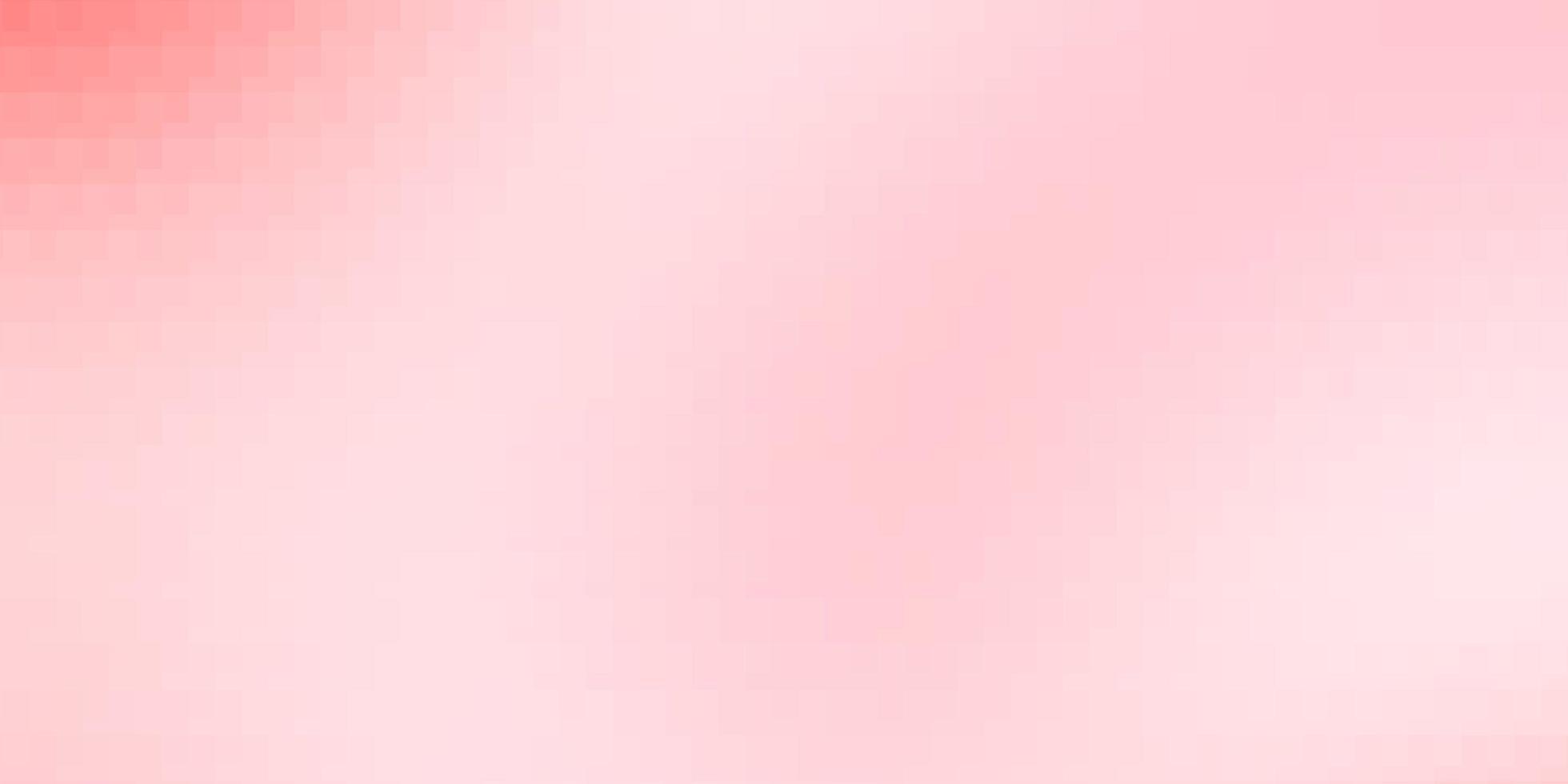 Fondo de vector rojo claro en estilo poligonal.