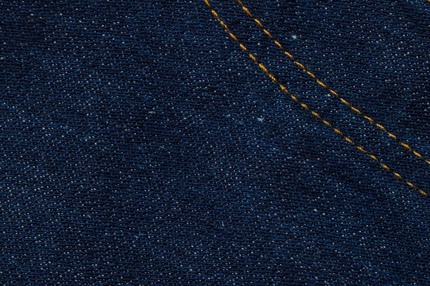 primer plano de la tela de jeans foto