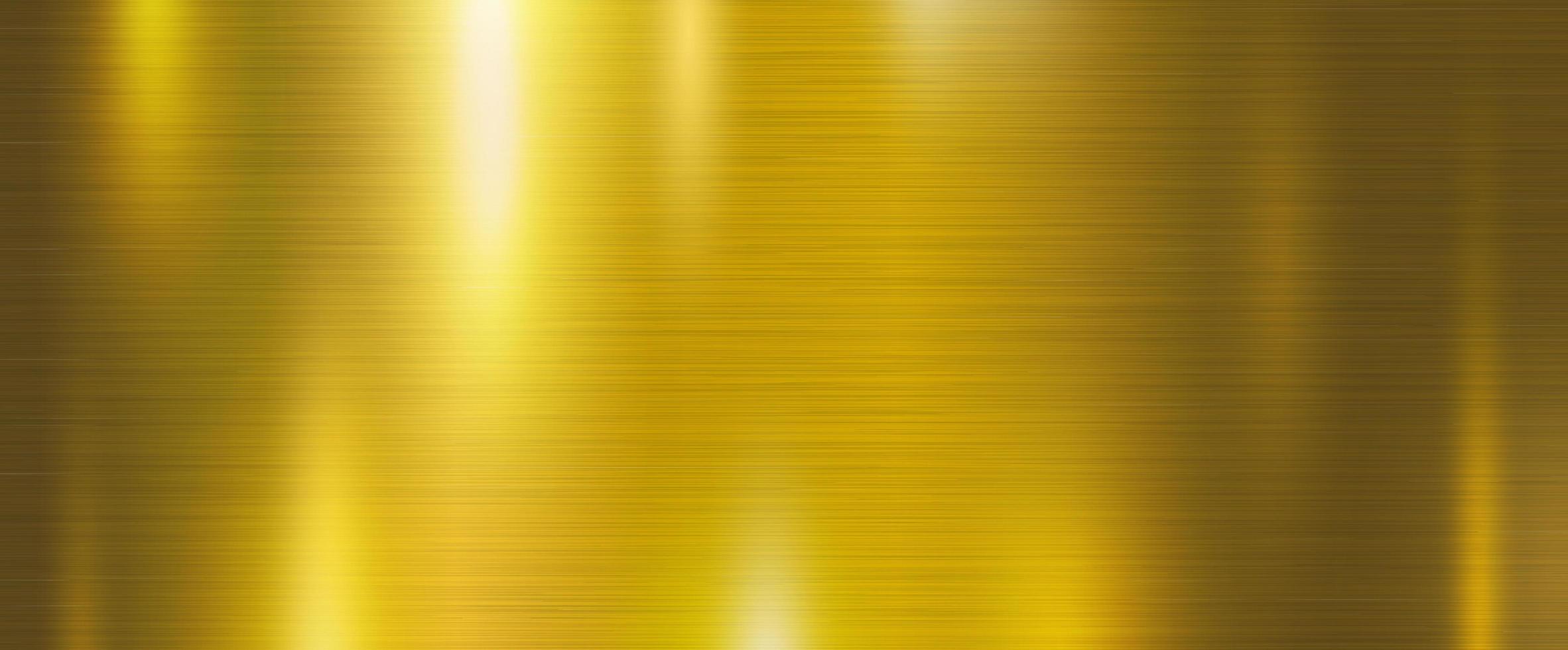 Gold metal background vector