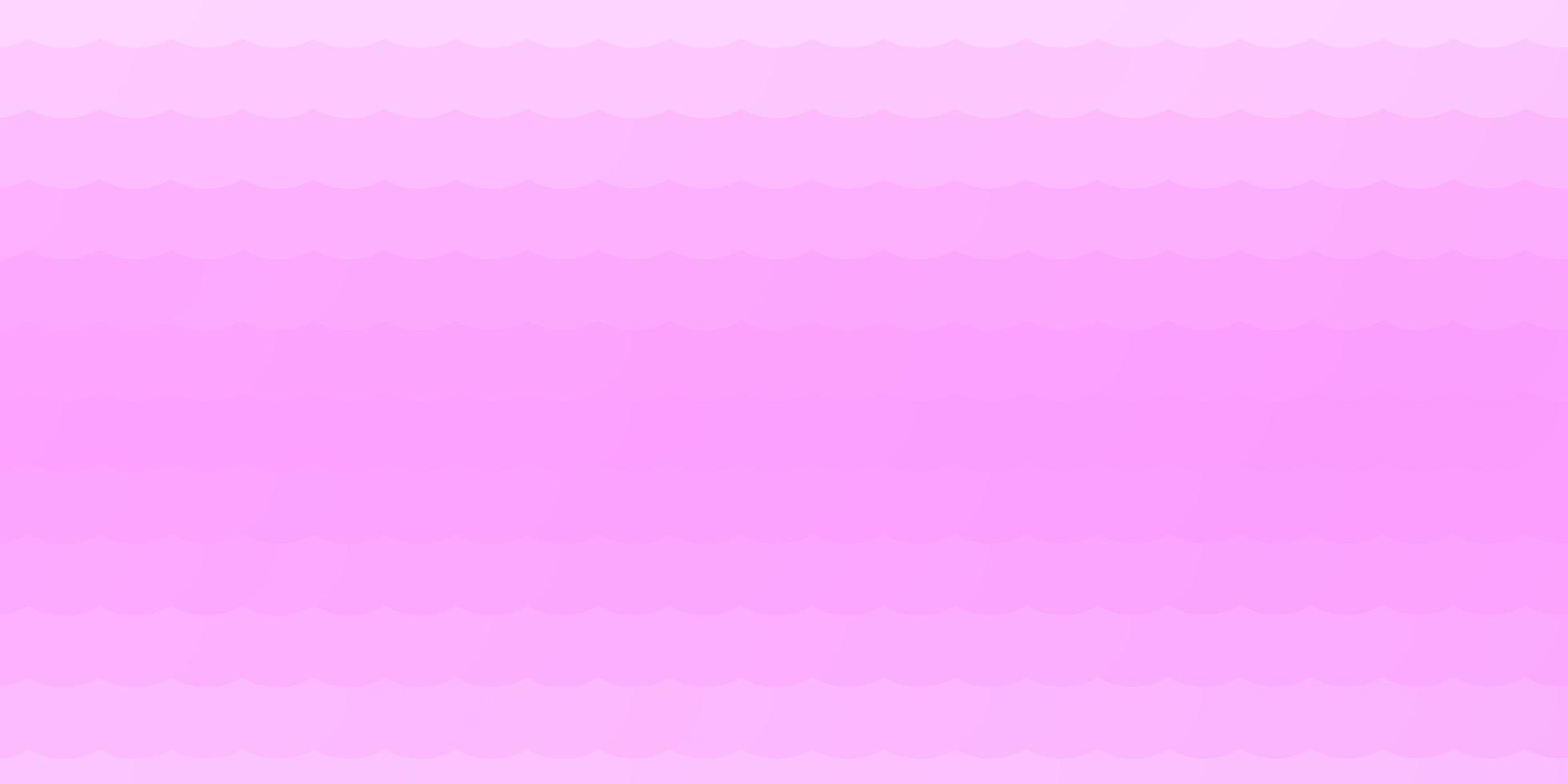 plantilla de vector rosa claro con círculos.