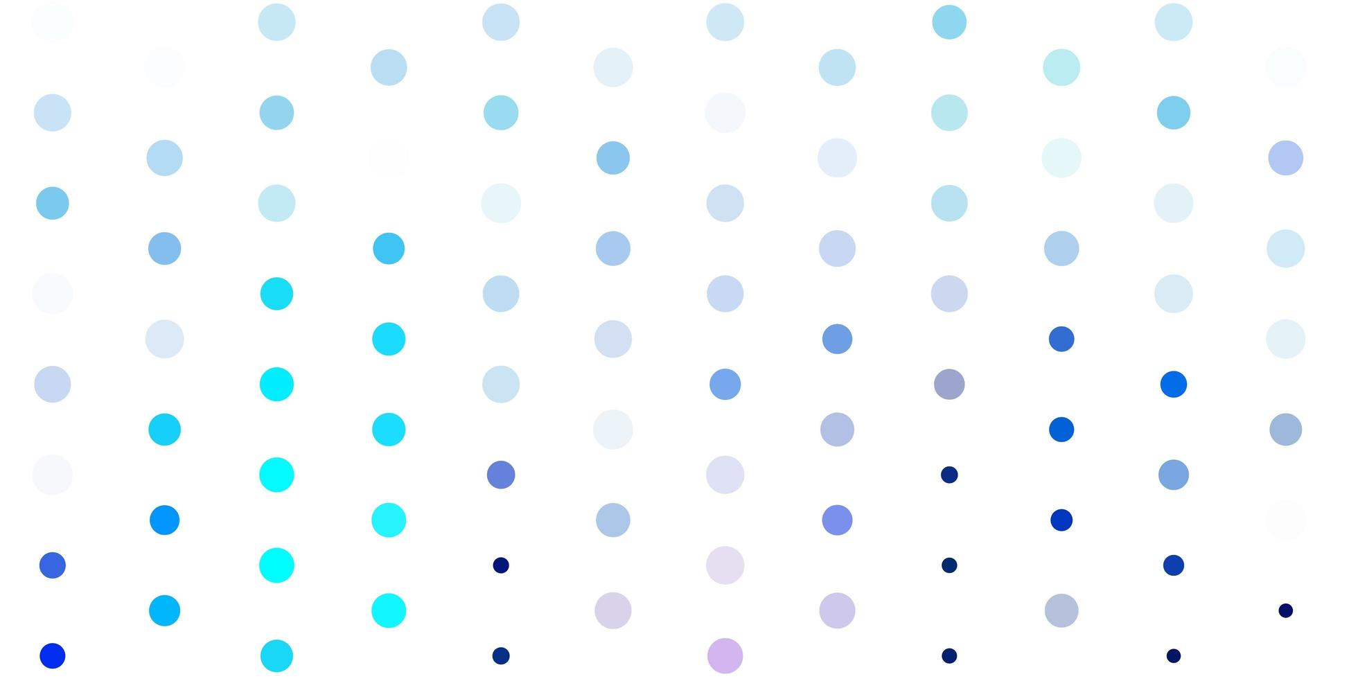 Fondo de vector rosa claro, azul con burbujas
