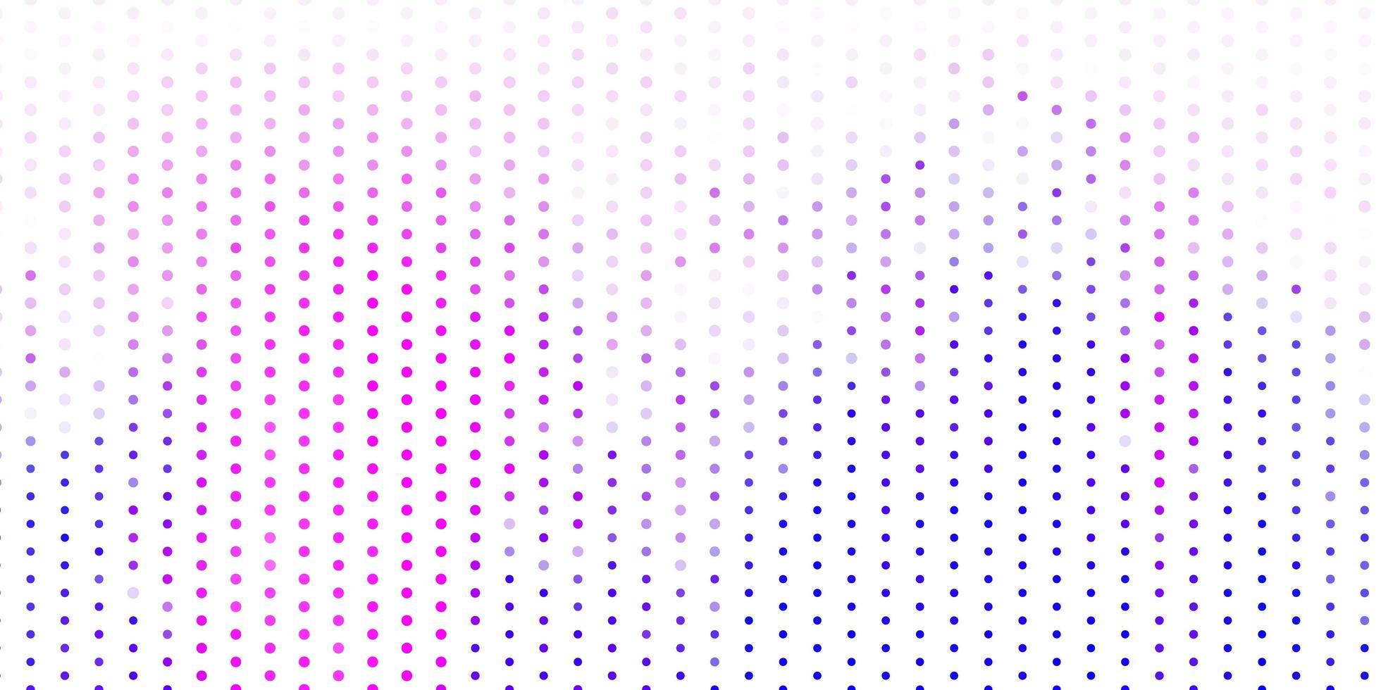 textura de vector rosa claro, azul con discos.