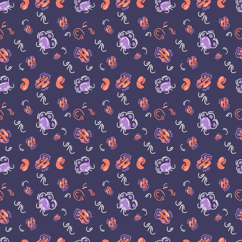 patrones abstractos sin costura vector