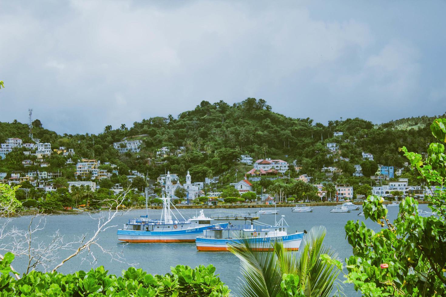 Santo Domingo, Dominican Republic, 2020 - Boats on the water photo