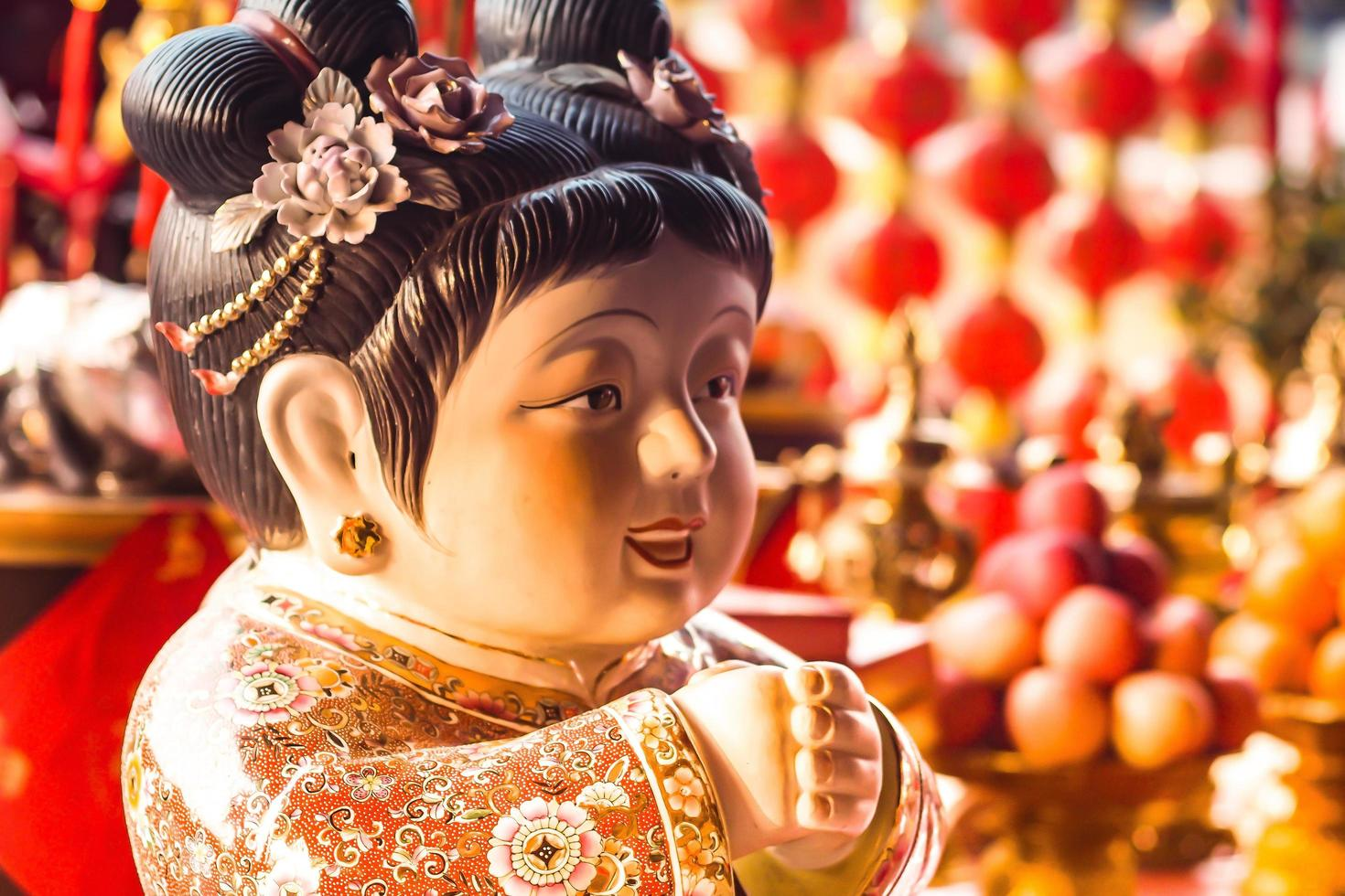 Samphao Lom, Thailand, 2020 - Traditional Chinese New Year decoration photo