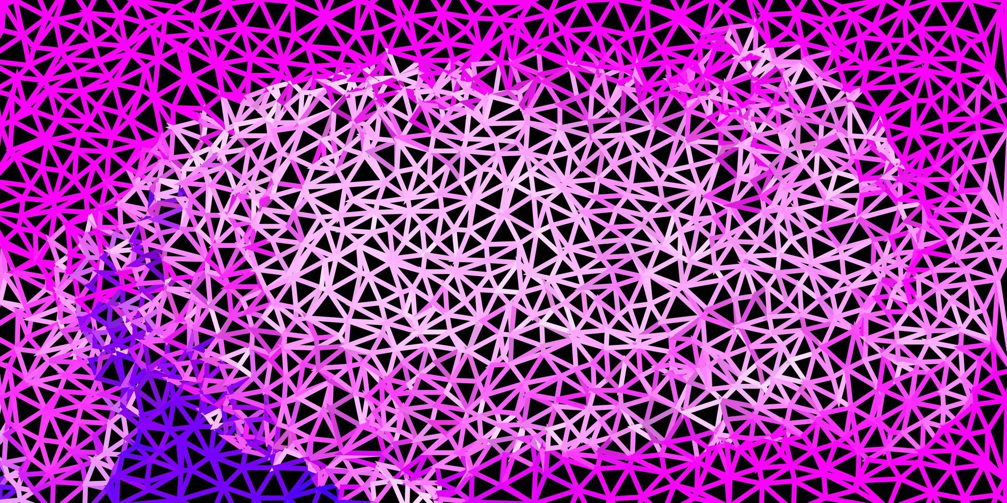 textura de triángulo abstracto vector rosa claro.