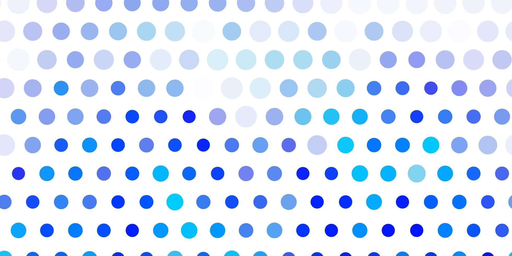 Light blue vector pattern with spheres.