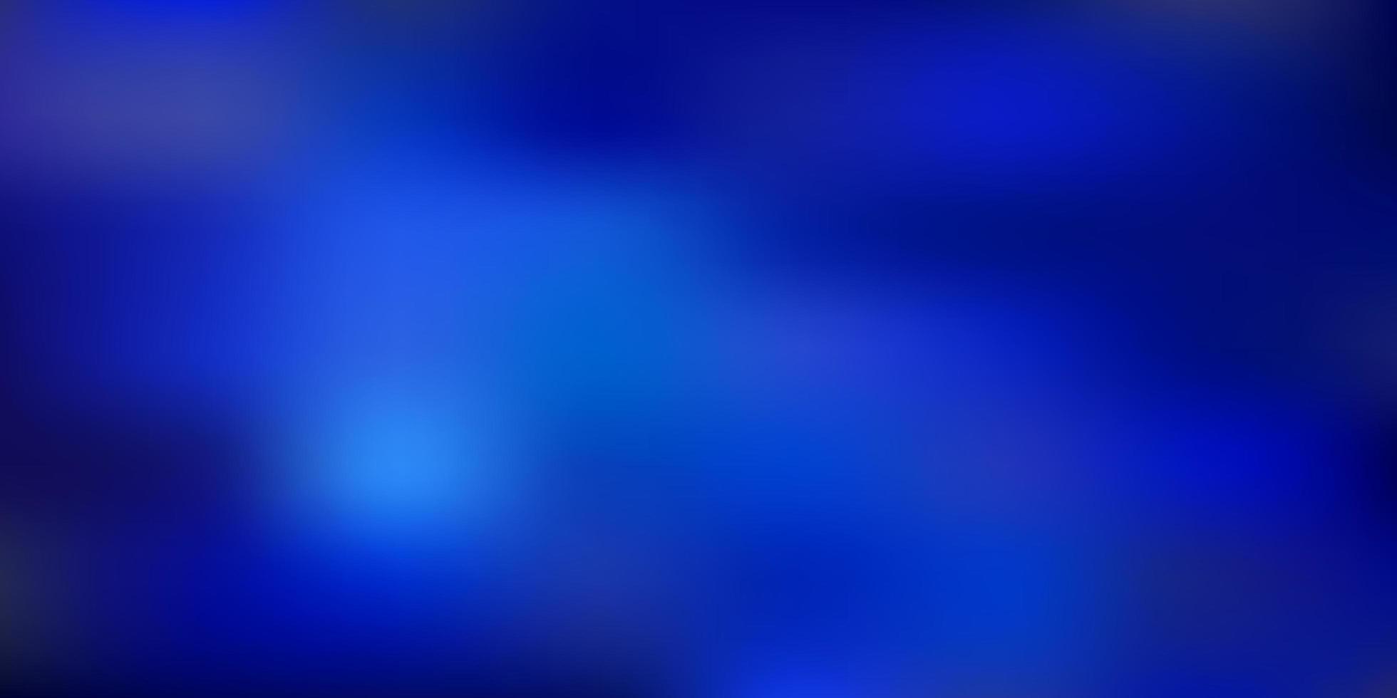 Dark blue vector blurred background.
