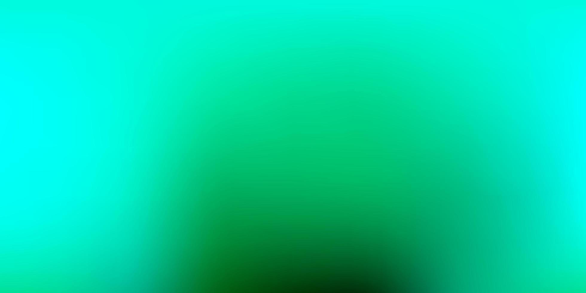 Light Green vector gradient blur template.