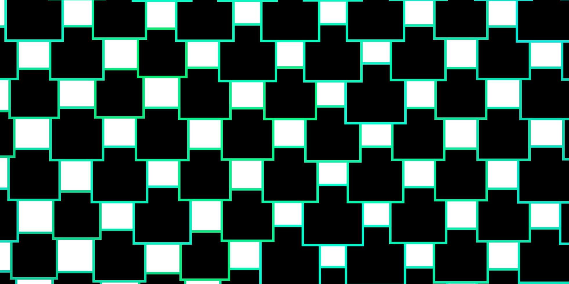 diseño de vector verde claro con líneas, rectángulos.