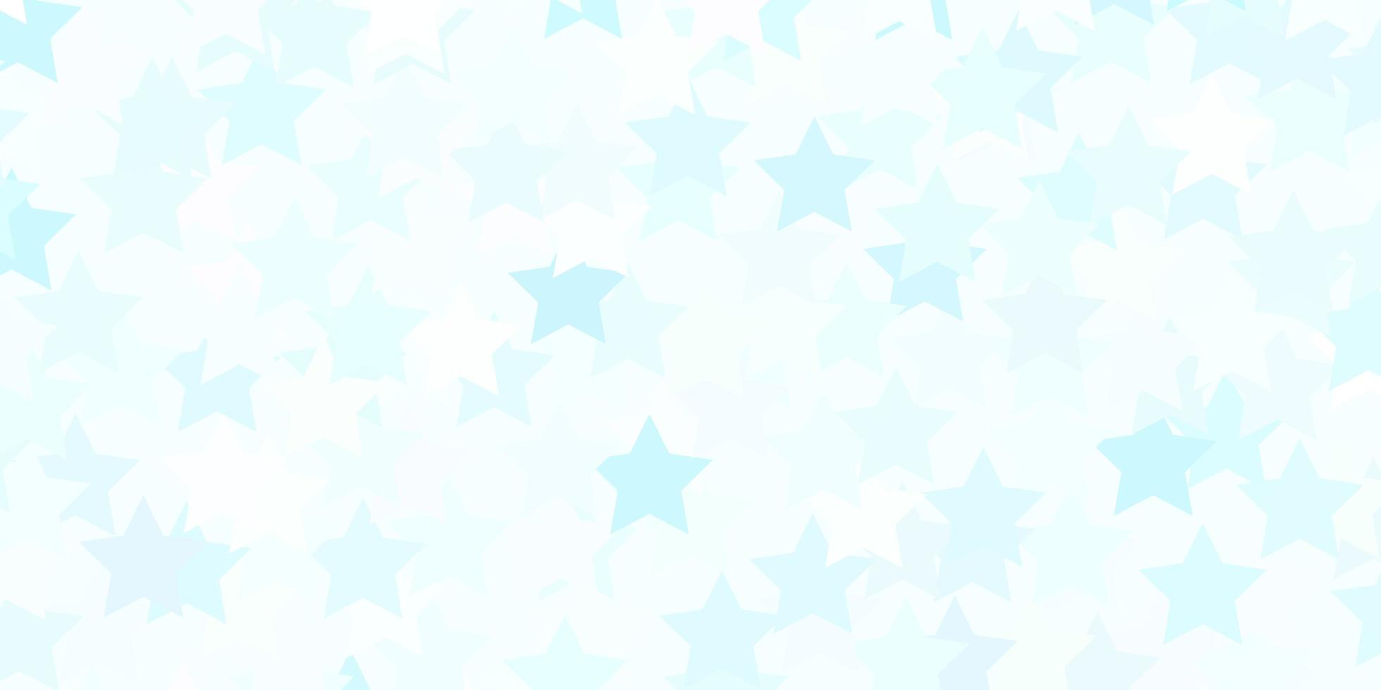 Light BLUE vector layout with bright stars.