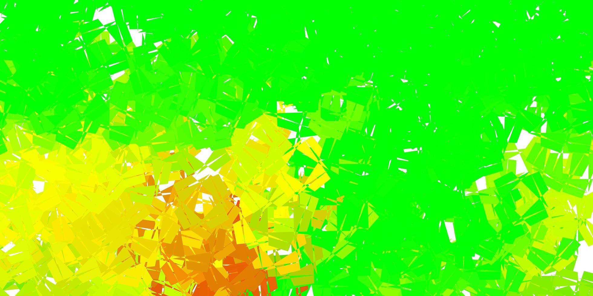 Dark multicolor vector gradient polygon wallpaper.