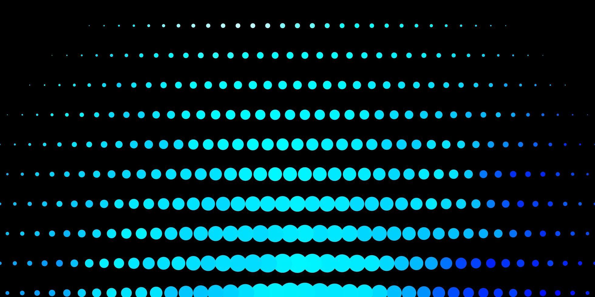 Fondo de vector azul oscuro con manchas.