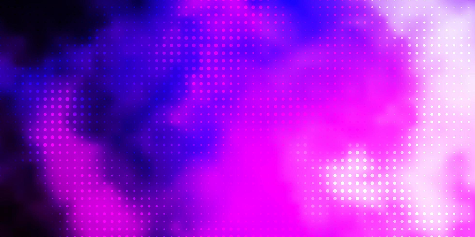 Light Purple, Pink vector layout with circle shapes.